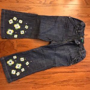 Benetton little girl Jean pants
